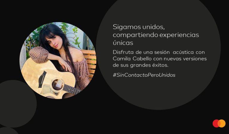 Camila Cabello se integra a la colección de experiencias digitales de Mastercard